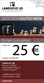 Gutschein 25€