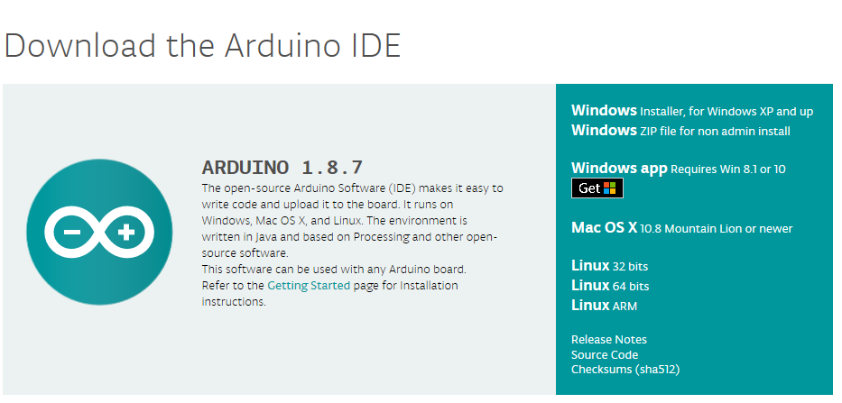 Software Arduino